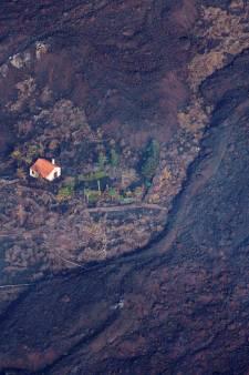 Une maison miraculeusement épargnée par les coulées de lave fait le tour du monde