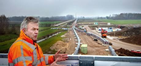 25 miljoen ton zand op de transportband naar Deest, in plaats van in duizend vrachtwagens