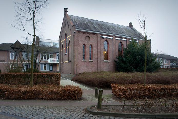 De kapel in Lage Mierde.