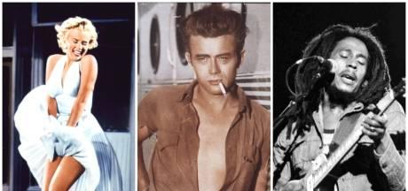 Ooit net zo bekend als Marilyn Monroe, maar nu is James Dean vergeten