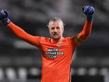 Bekerkoorts bij Vitesse-doelman Remko Pasveer: Zelf de titel winnen, daar draait alles om