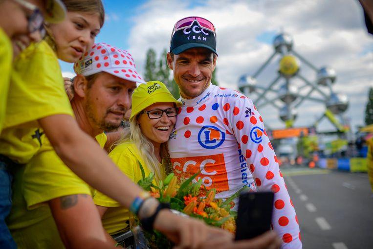 Greg Van Avermaet tijdens de Tour 2019.