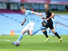 20e victoire consécutive de Man City, De Bruyne à l'assist