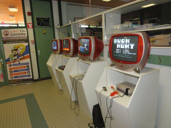 Multiplay geeft een geschiedenis van videogames in Nieuwpoort