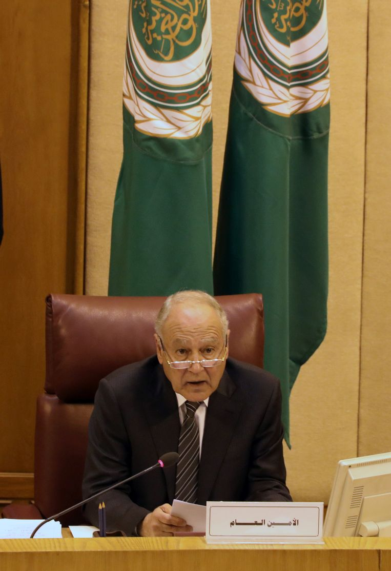Ahmed Aboul Gheit Beeld REUTERS