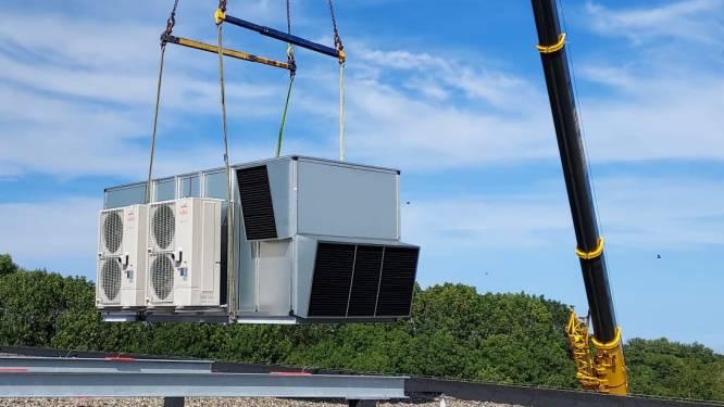 Deze middelbare school heeft een nieuw ventilatiesysteem laten plaatsen: 'Erg belangrijk in deze tijd'