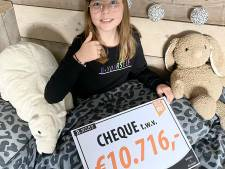 Ooit werd Suze (10) zelf gepest: nu heeft ze 10.000 euro opgehaald met eigen 'kledinglijn tegen pesten'
