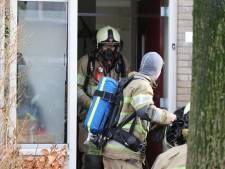 Brand in keuken in Eemnes, bewoners tijdelijk opgevangen bij buren