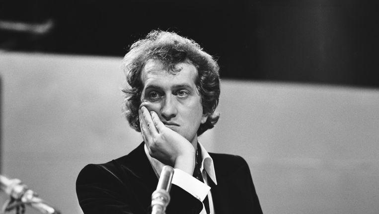 Gerrit Komrij in 1972. Beeld ANP