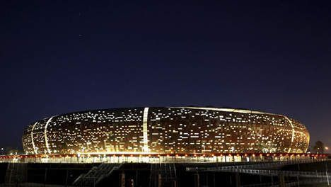 Soccer City Stadium à Johannesburg.