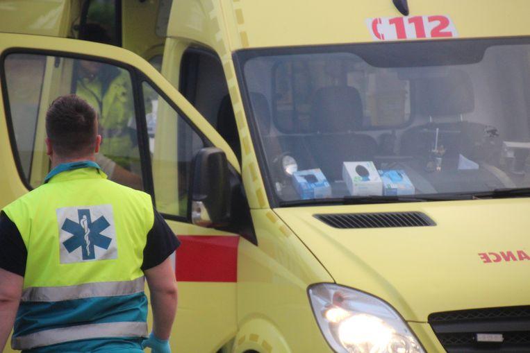 Ziekenwagen brandweerpost Herzele.