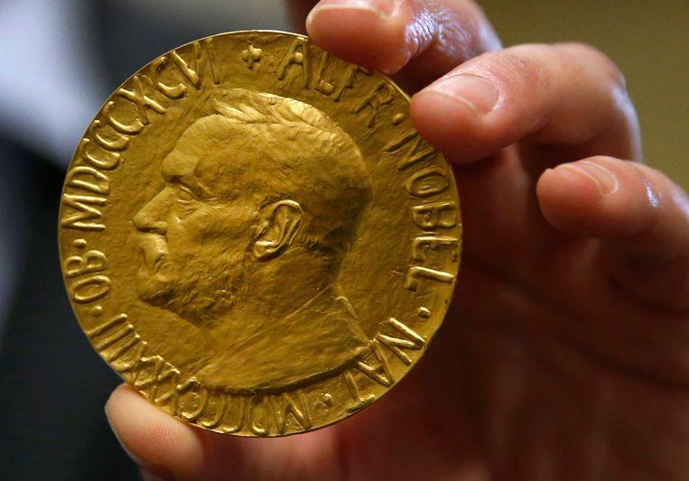 De Nobelprijs voor de vrede. Beeld AP