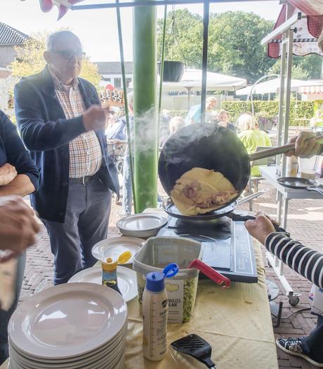 Een voorproefje op Burendag voor bewoners Wiekhof Tubbergen