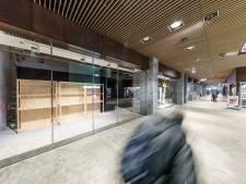 Weer winkel op station Breda dicht