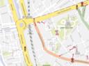 In een van de drie plannen stelt het Mobiliteitsbedrijf voor om in de Dendermondsesteenweg eenrichtingsverkeer in te voeren. Maar dan zal ook het Vlaams Agentschap Wegen en Verkeer akkoord moeten gaan.