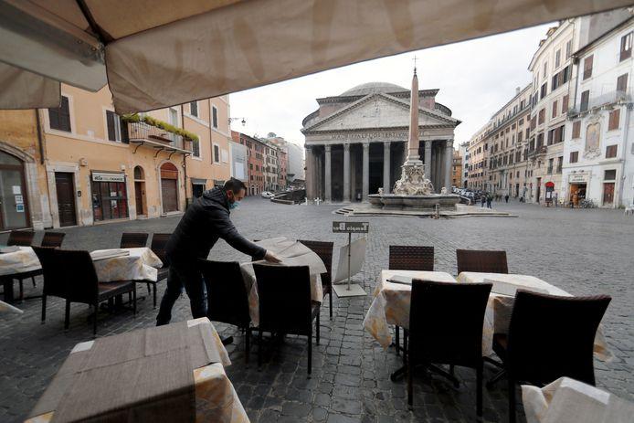 Place du Panthéon, à Rome