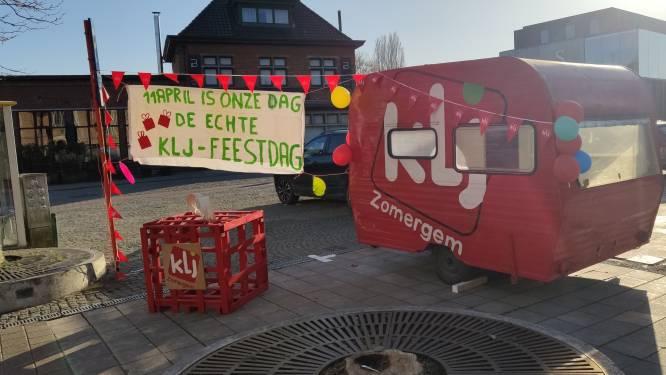 """KLJ palmt Markt van Zomergem in: """"Laten zien dat we er nog zijn en binnenkort feestvieren"""""""