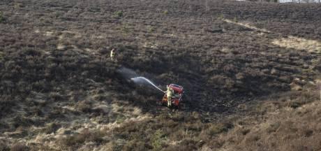 Brandje op de Posbank bij Rheden snel geblust