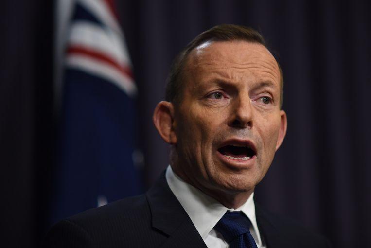 Minister-president van Australië, Tony Abbott.