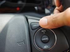'Goede zithouding achter het stuur? Cruise-control biedt uitkomst'