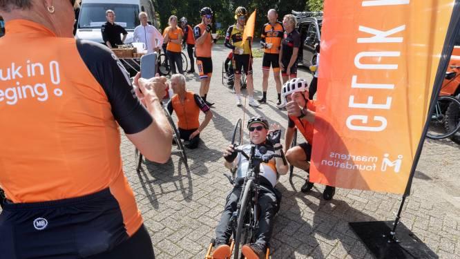 Harmeling houdt fietsmarathon van 1200 km voor het goede doel
