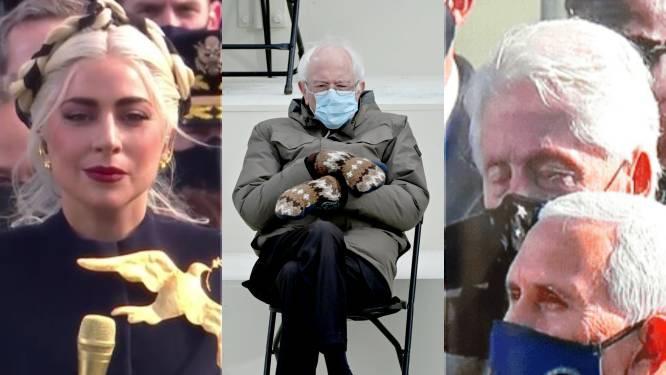 Van Lady Gaga tot Bernie Sanders: het internet lacht zich kapot na eedaflegging Joe Biden