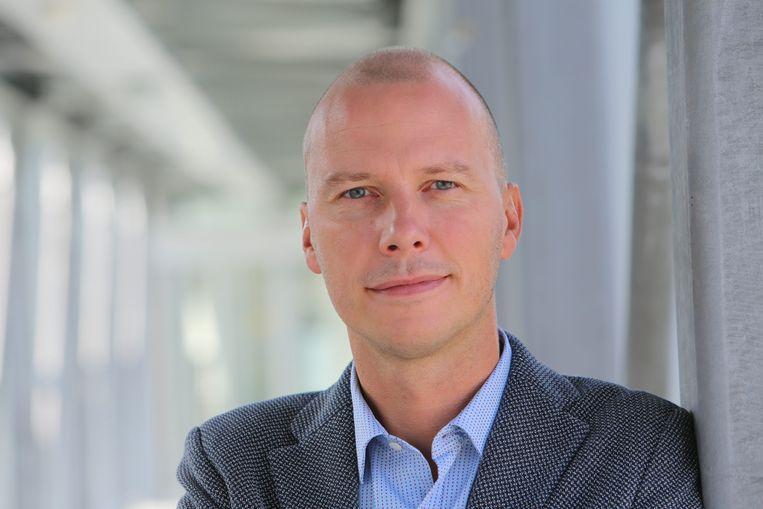 Peter Claes, directeur media en productie bij de VRT. Beeld © VRT Phile Deprez