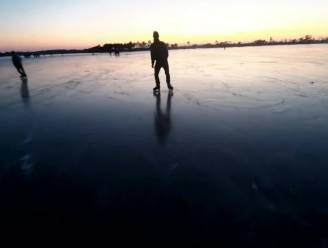 Lezer maakt poëtisch filmpje over schaatspret op Kalmthoutse Heide