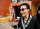 Florence Fang, de eigenaresse van het Flintstone House.