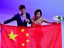 Chinees duo verovert goud bij WK paarrijden