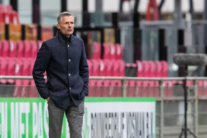 Een punt tegen Roda JC was volgens GA Eagles-trainer Kees van Wonderen het maximaal haalbare.