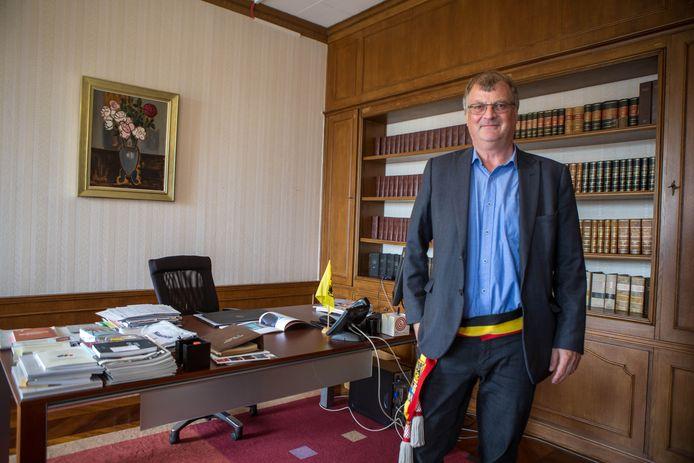 Burgemeester Willy Segers