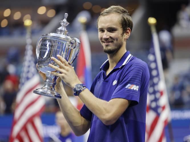 Geen vierde grand slam dit jaar, geen record voor Djokovic: superieure Medvedev verpest droom van Serviër en wint US Open