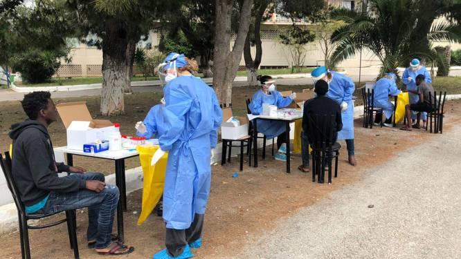 Corona-uitbraak in asielcentrum op Grieks vasteland