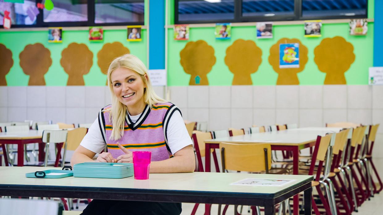 Julie Van den Steen in 'Later als ik groot ben'. Beeld VTM
