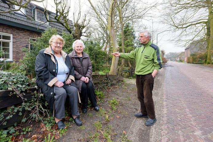 Van links naar rechts: Gonny Sophie-Verberne, Drieka de Lepper en Huub van Leuken.