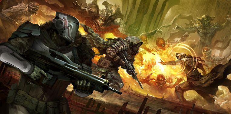 Nieuwe schietklepper 'Destiny' komt nog voor de PlayStation 3 uit. Beeld Activision