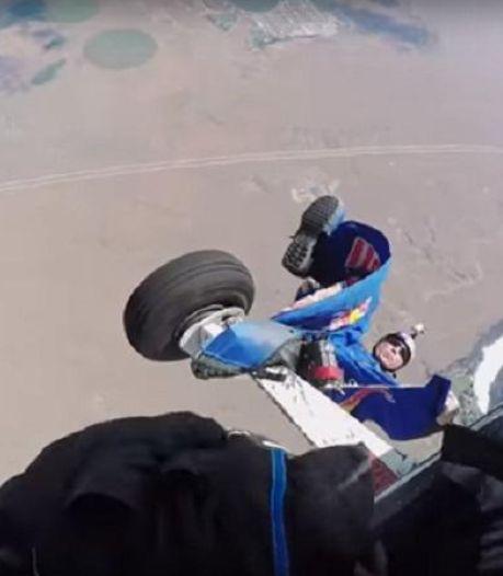 Un saut en wingsuit qui aurait pu très mal se terminer