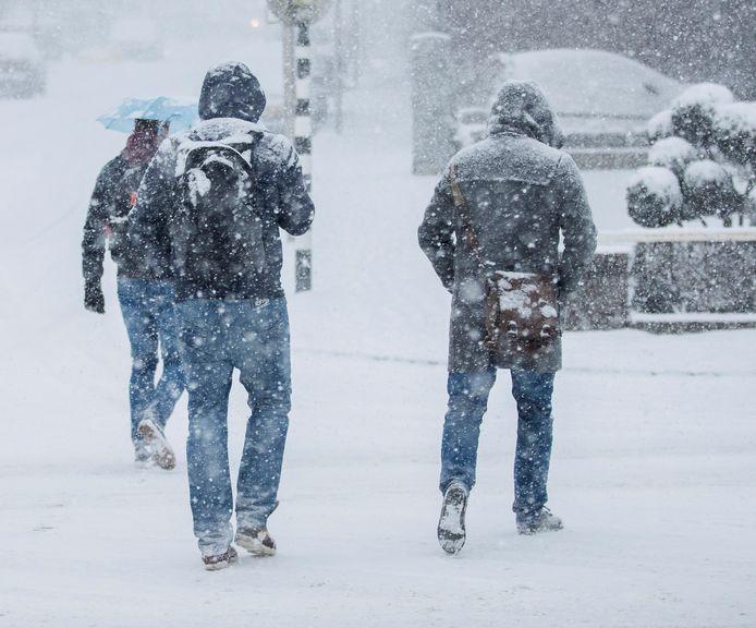 Vanaf zaterdagavond gaat het sneeuwen. De meeste sneeuw wordt verwacht in de provincies Noord- en Zuid-Holland, Utrecht, Flevoland en Overijssel, waar op sommige plaatsen een sneeuwlaag van wel 15 tot 20 centimeter kan ontstaan.