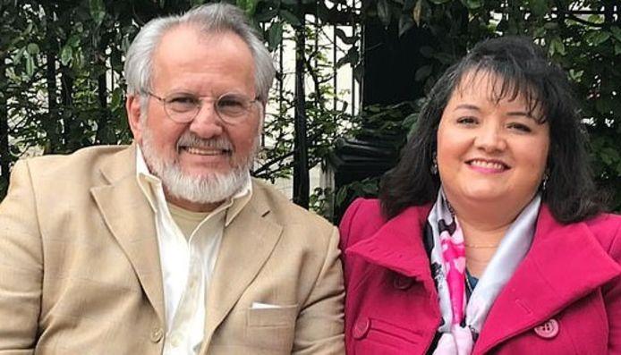 Elizabeth en Fernando Jimenez.