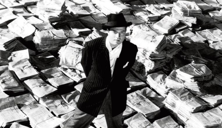 Orson Welles. Beeld RV