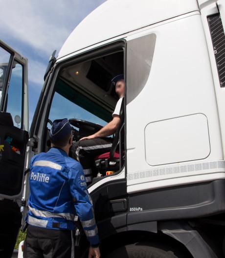 Controle zwaar vervoer: 9.475 euro aan boetes geïnd