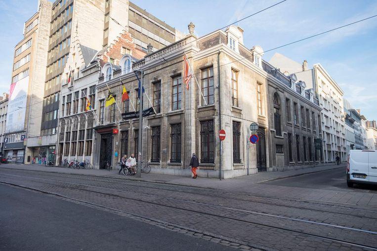 Het districtshuis van Antwerpen