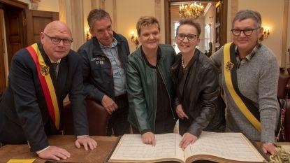 Bieke bezoekt na 50 jaar voor het eerst haar 'geboortestad' Wetteren