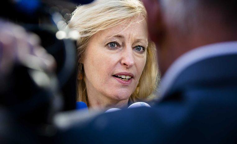 En de minister die verantwoordelijk is voor de Frans-Nederlandse deal. Beeld anp