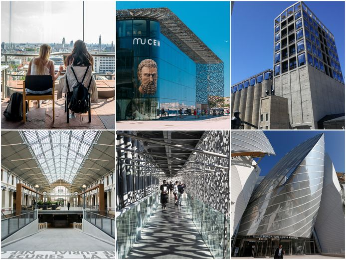 Voor de cultuurcampus wordt ter inspiratie naar iconische gebouwen in het buitenland gekeken.