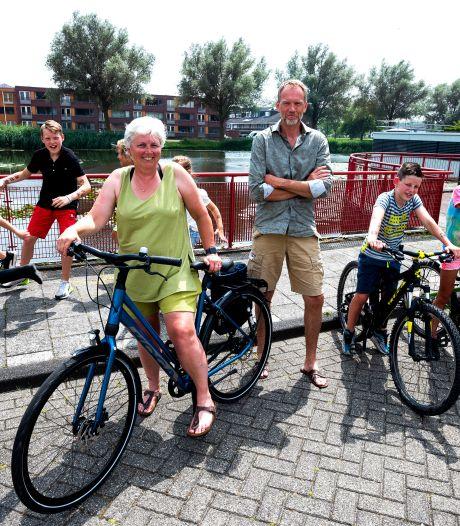 Bewoners Snel en Polanen zijn tegen de plannen voor een fietsroute door hun wijk: 'Het kan gevaarlijke situaties opleveren.'