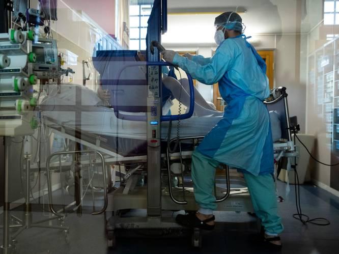 OVERZICHT. Aantal besmettingen licht gestegen, geen daling ziekenhuisopnames