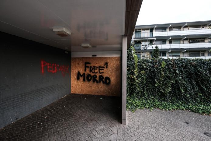 Een van de hangplekken in de Pelkwijk.