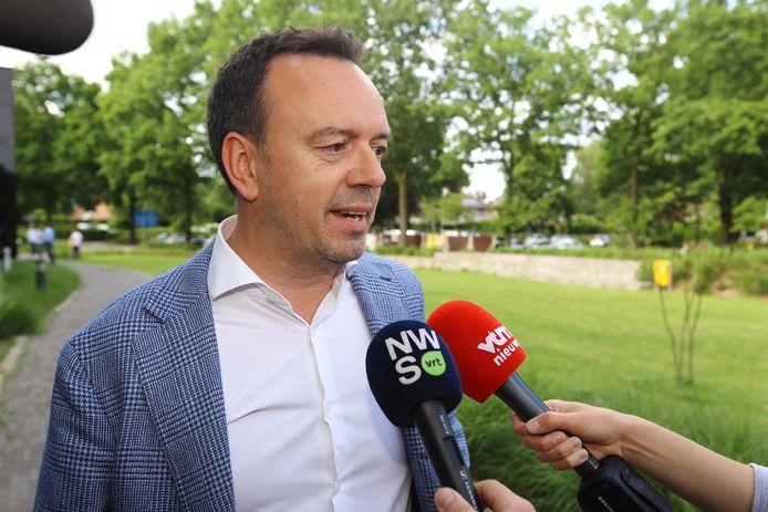 Bruno Steegen was na de stembusgang in oktober al even burgemeester en ambieert die post opnieuw uitgesproken.